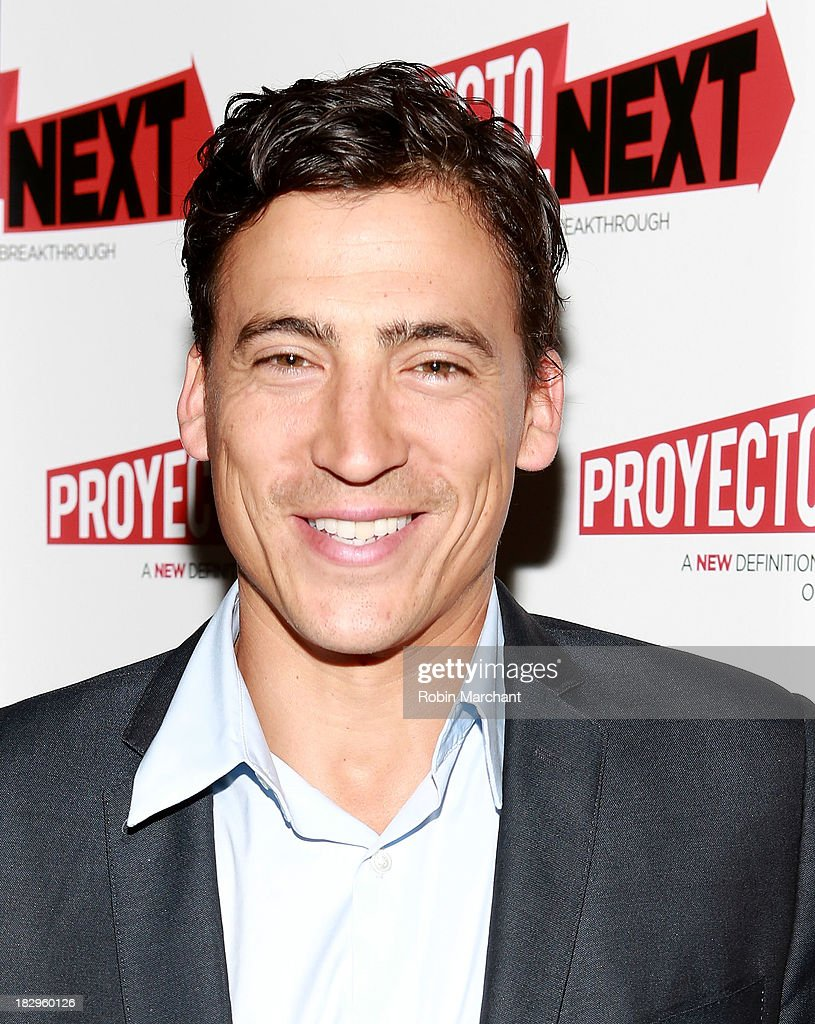 Actress <a gi-track='captionPersonalityLinkClicked' href=/galleries/search?phrase=Andrew+Keegan&family=editorial&specificpeople=214042 ng-click='$event.stopPropagation()'>Andrew Keegan</a> attends the premiere of the 'The House That Jack Built' at AMC Empire 25 theater on October 2, 2013 in New York City.