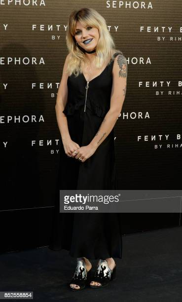 Actress Ang Fernandez attends the Fenty Beauty photocall at Callao cinema on September 23 2017 in Madrid Spain