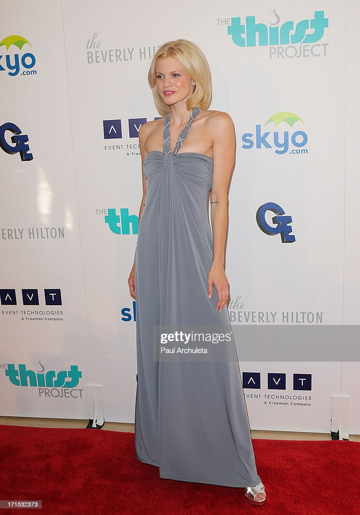 Actress Angel McCord attends the 4th annual Thirst Gala at The Beverly Hilton Hotel on June 25, 2013 in Beverly Hills, California.