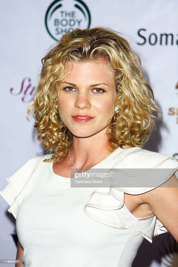 Actress Angel McCord attends the Somaly Mam Foundation's Project Futures Global Campaign launch event held at the SLS Hotel on July 23, 2011 in Beverly Hills, California.