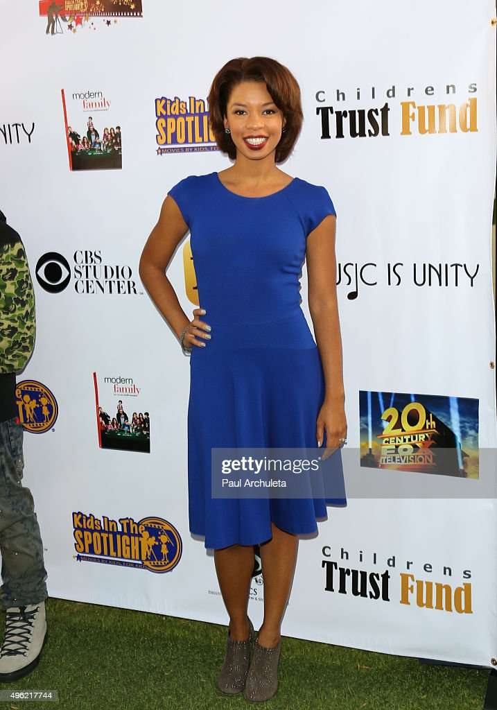 Actress Angel Parker attends the Kids In The Spotlight's Movies By Kids, For Kids Film Awards at Fox Studios on November 7, 2015 in Los Angeles, California.