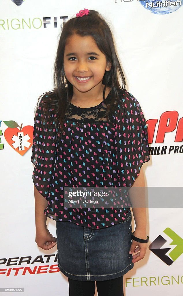 Actress Angela Azar participates in the Red Carpet Health Expo held at The Vitamin Shoppe on January 12, 2013 in Los Angeles, California.