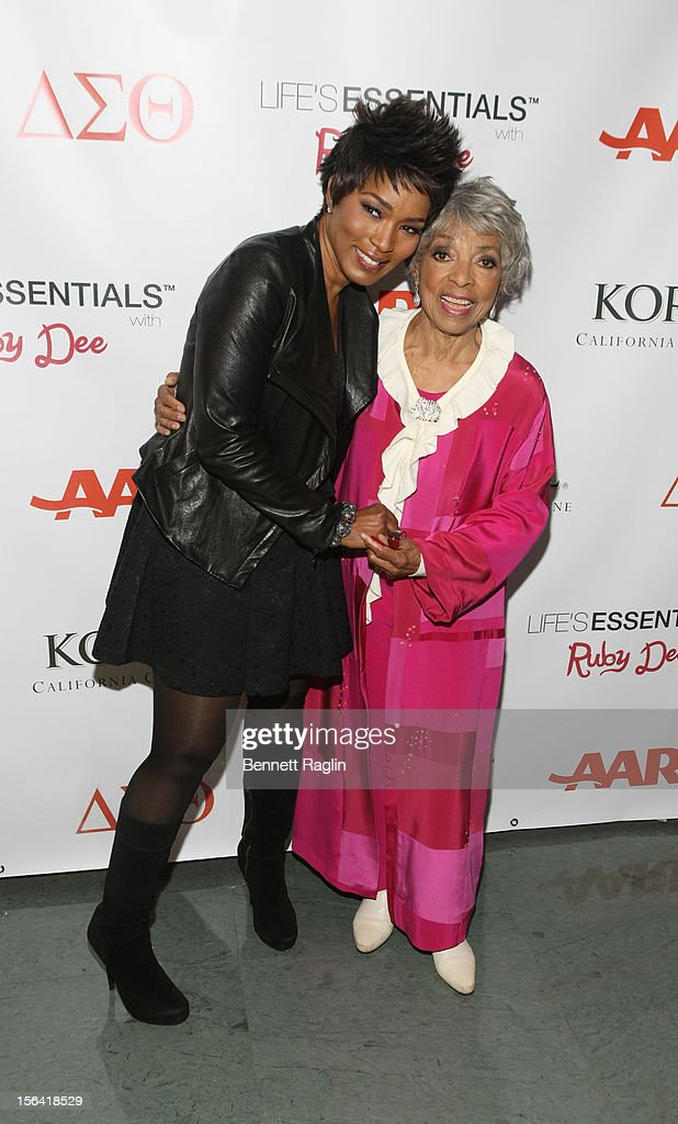 """""""Life's Essentials With Ruby Dee"""" New York Screening"""