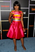 Actress Angela Bassett arrives at Entertainment Weekly's Annual Comic Con Celebration at Float at Hard Rock Hotel San Diego on July 26 2014 in San...