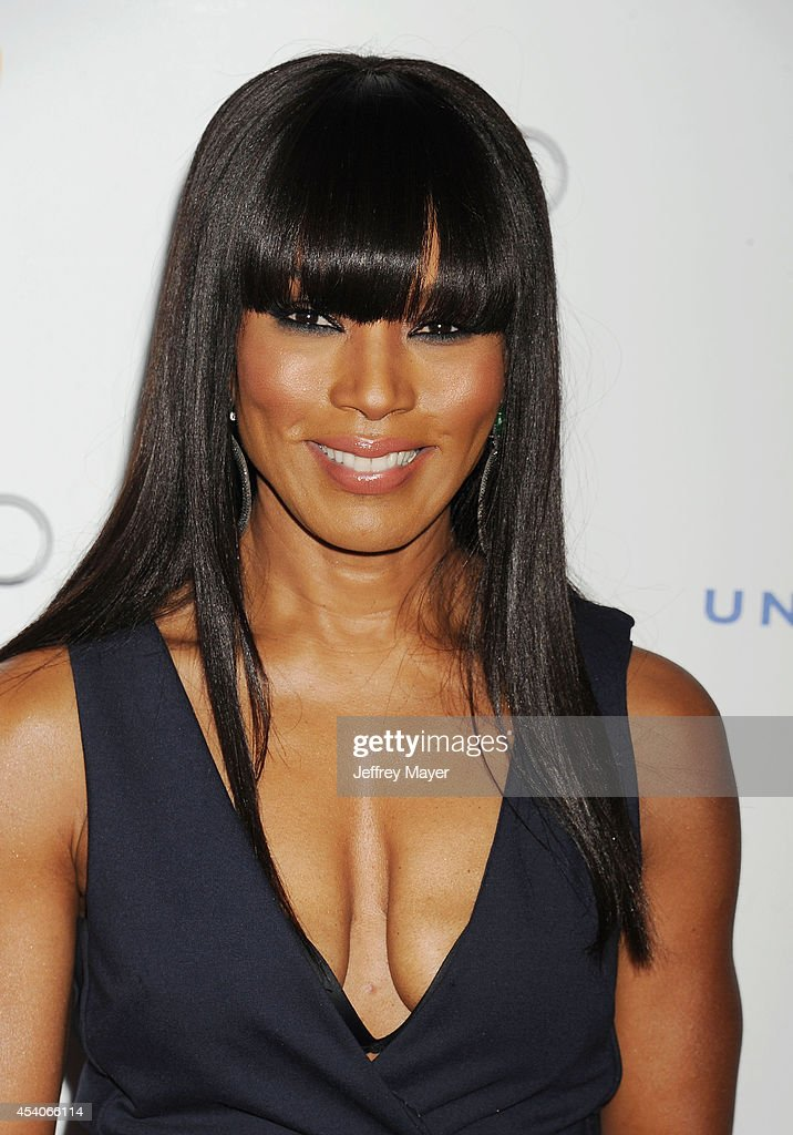 Actress <a gi-track='captionPersonalityLinkClicked' href=/galleries/search?phrase=Angela+Bassett&family=editorial&specificpeople=171174 ng-click='$event.stopPropagation()'>Angela Bassett</a> arrives at the Television Academy's 66th Emmy Awards Performance Nominee Reception at the Pacific Design Center on Saturday, Aug. 23, 2014, in West Hollywood, California.