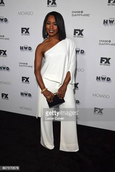 Actress Angela Bassett at Vanity Fair And FX's Annual Primetime Emmy Nominations Party on September 17 2016 in Beverly Hills California