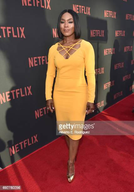Actress Angela Bassett attends Netflix's 'Master Of None' For Your Consideration Event at the Saban Media Center on June 5 2017 in North Hollywood...