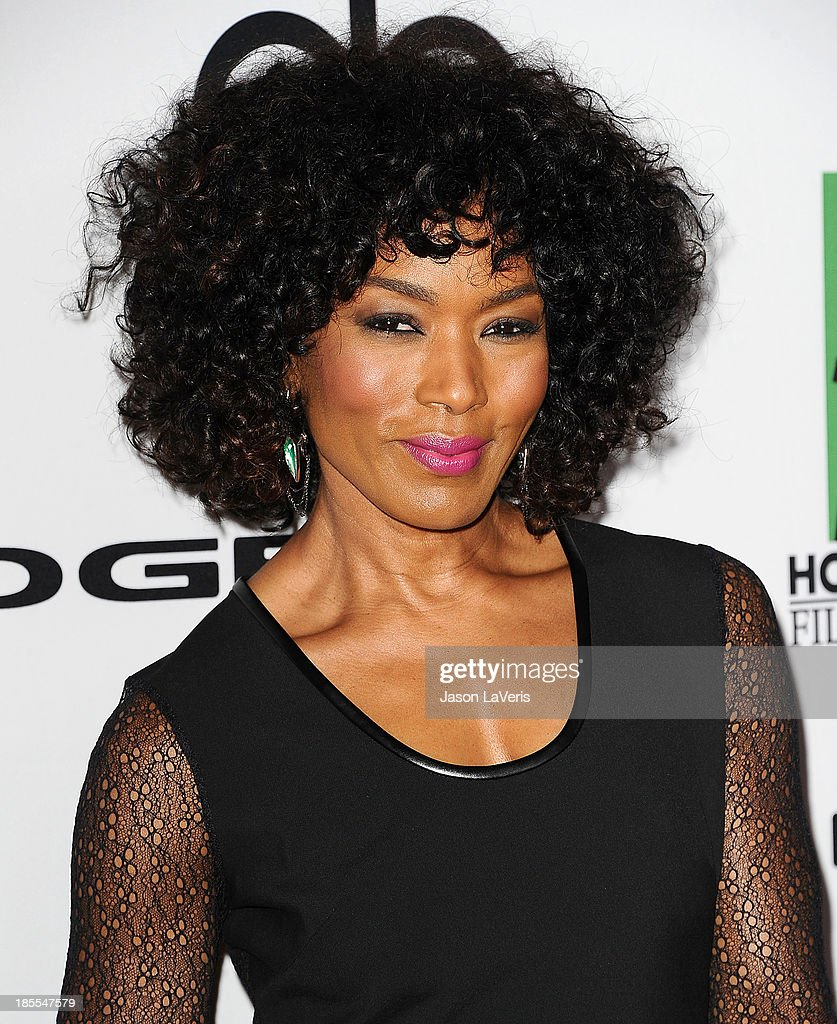 Actress <a gi-track='captionPersonalityLinkClicked' href=/galleries/search?phrase=Angela+Bassett&family=editorial&specificpeople=171174 ng-click='$event.stopPropagation()'>Angela Bassett</a> attends the 17th annual Hollywood Film Awards at The Beverly Hilton Hotel on October 21, 2013 in Beverly Hills, California.