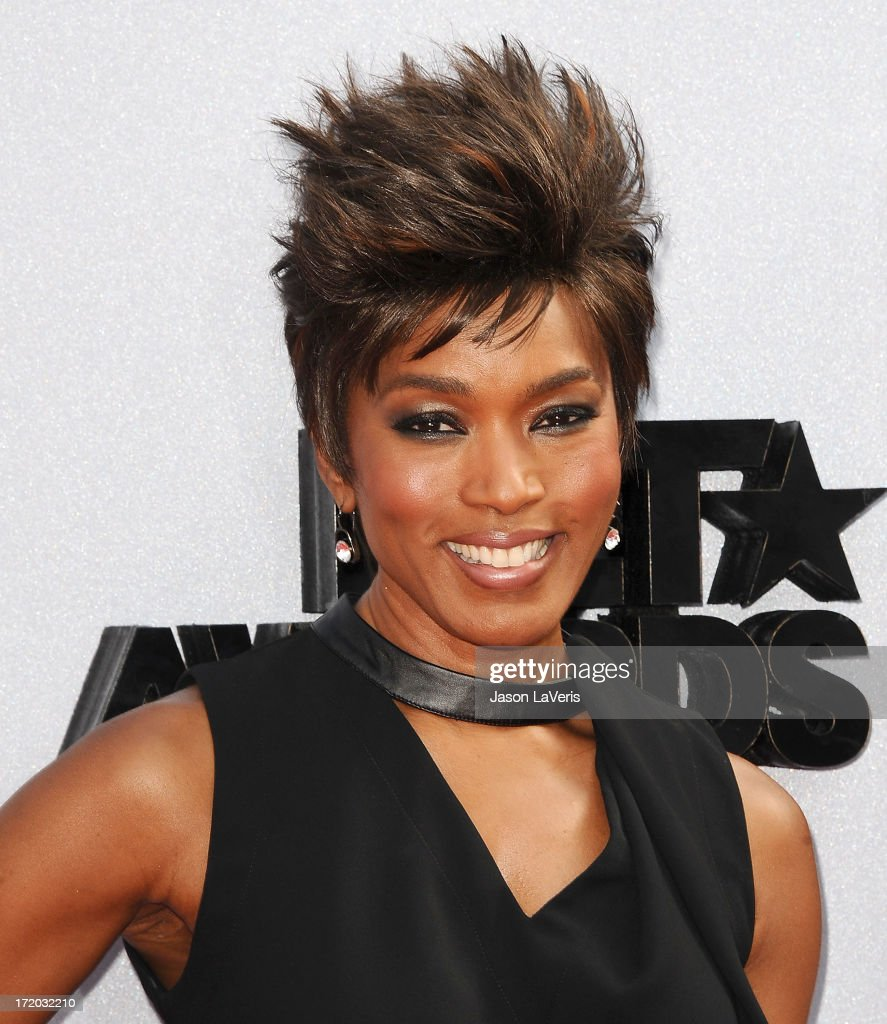 Actress Angela Bassett attends the 2013 BET Awards at Nokia Theatre L.A. Live on June 30, 2013 in Los Angeles, California.