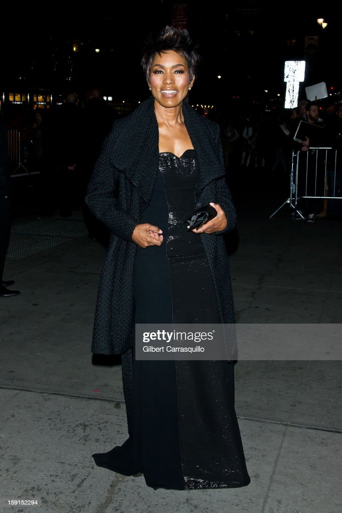 Actress Angela Bassett attends the 2013 National Board Of Review Awards at Cipriani 42nd Street on January 8, 2013 in New York City.