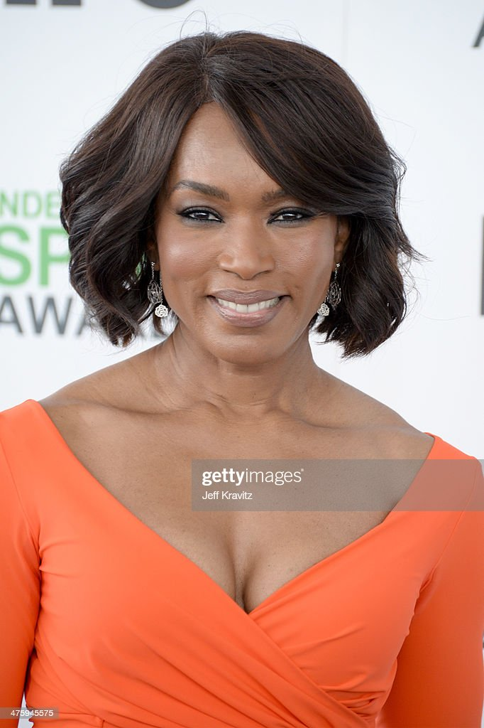 Actress <a gi-track='captionPersonalityLinkClicked' href=/galleries/search?phrase=Angela+Bassett&family=editorial&specificpeople=171174 ng-click='$event.stopPropagation()'>Angela Bassett</a> attends the 2014 Film Independent Spirit Awards on March 1, 2014 in Santa Monica, California.