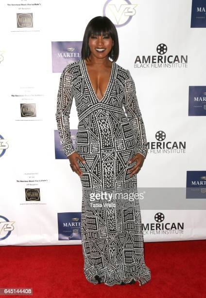 Actress Angela Bassett attends the 2017 PreOscar Gala for the American Black Film aInstitute at Preston's on February 24 2017 in Hollywood California