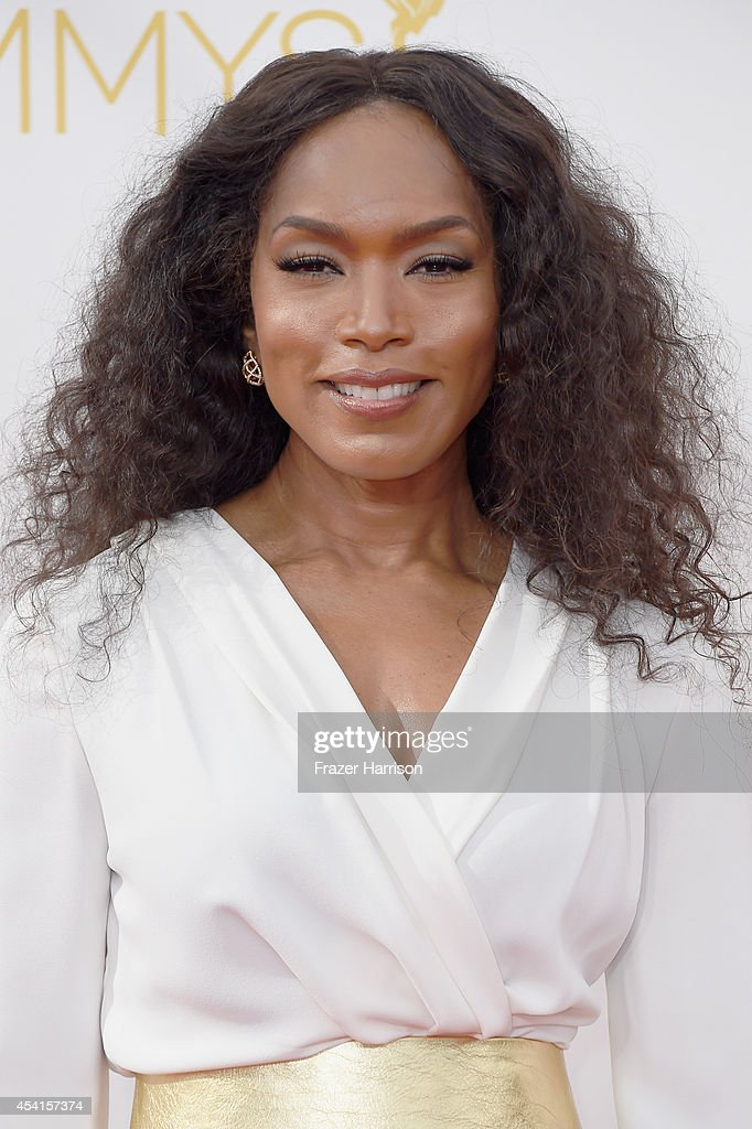 Actress Angela Bassett attends the 66th Annual Primetime Emmy Awards held at Nokia Theatre LA Live on August 25 2014 in Los Angeles California