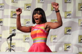 Actress Angela Bassett attends the 'American Horror Story Coven' panel at ComicCon International on July 26 2014 in San Diego California
