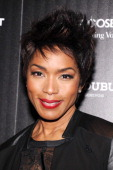 Actress Angela Bassett attends The Cinema Society with Roger Dubuis and Grey Goose screening of FilmDistrict's 'Olympus Has Fallen' at Tribeca Grand...