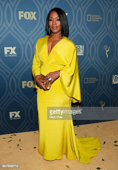 Actress Angela Bassett attends the FOX Broadcasting Company FX National Geographic And Twentieth Century Fox Television's 68th Primetime Emmy Awards...