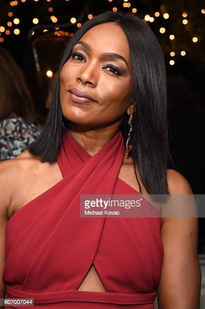 Actress Angela Bassett attends the Gersh Emmy Party presented by World Class Spirits at a private residence on September 16 2016 in Los Angeles...