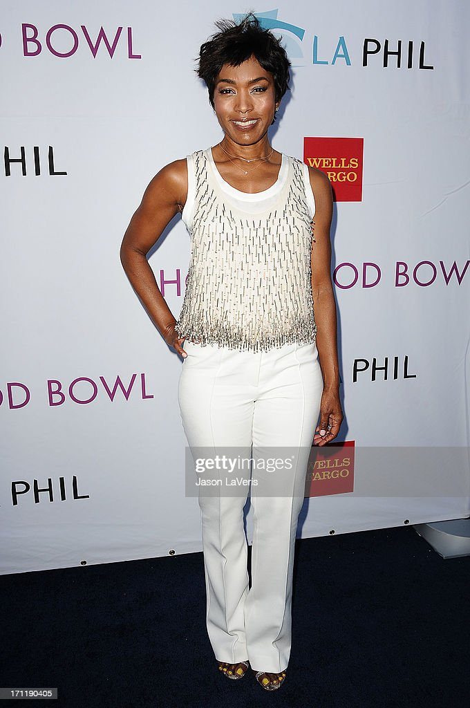 Actress Angela Bassett attends the Hollywood Bowl opening night celebration at The Hollywood Bowl on June 22, 2013 in Los Angeles, California.