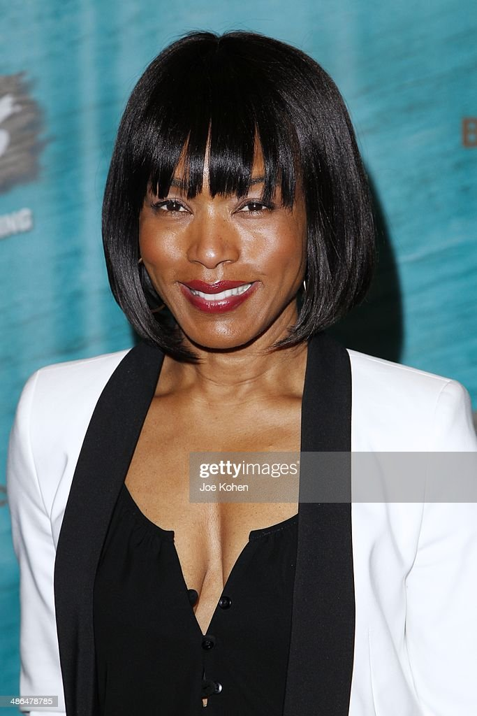 Actress Angela Bassett attends the Opening Night Of The Gershwin's 'Porgy And Bess' At The Ahmanson Theatre at Ahmanson Theatre on April 23, 2014 in Los Angeles, California.