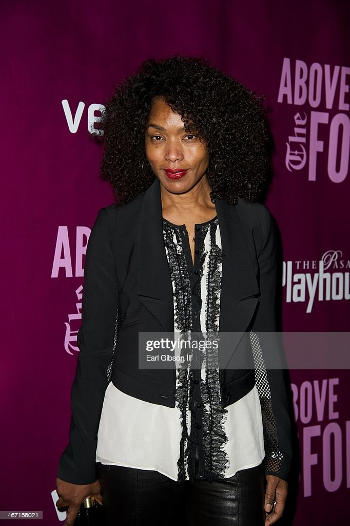 Actress <a gi-track='captionPersonalityLinkClicked' href=/galleries/search?phrase=Angela+Bassett&family=editorial&specificpeople=171174 ng-click='$event.stopPropagation()'>Angela Bassett</a> attends the opening night performance of 'Above the Rim' at Pasadena Playhouse on February 5, 2014 in Pasadena, California.