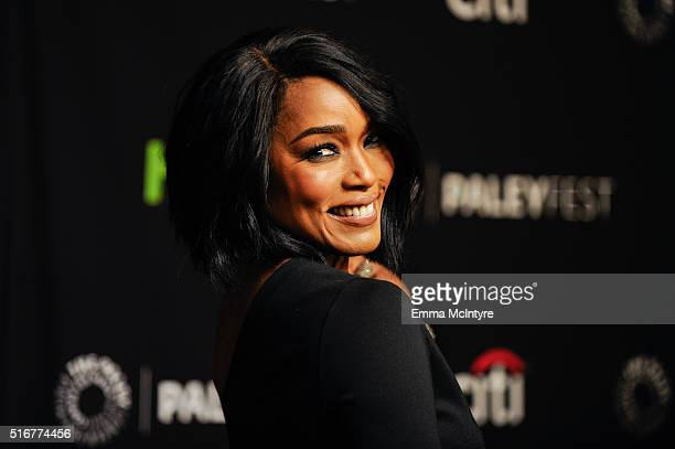 Actress Angela Bassett attends The Paley Center For Media's 33rd Annual PaleyFest Los Angeles Closing Night Presentation 'American Horror Story...