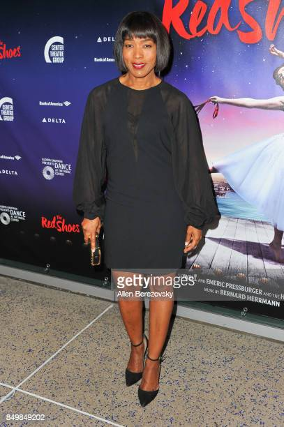 Actress Angela Bassett attends 'The Red Shoes' opening night performance at Ahmanson Theatre on September 19 2017 in Los Angeles California
