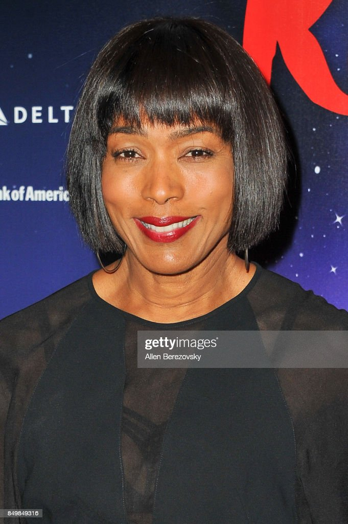 Actress Angela Bassett attends 'The Red Shoes' opening night performance at Ahmanson Theatre on September 19, 2017 in Los Angeles, California.