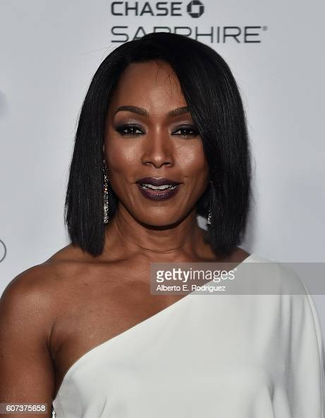 Actress Angela Bassett attends the Vanity and FX Annual Primetime Emmy Nominations Party at Craft Restaurant on September 17 2016 in Beverly Hills...