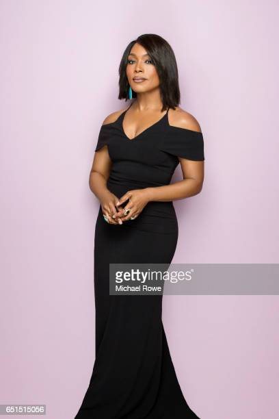 Actress Angela Bassett is photographed for Essencecom on February 23 2017 in Los Angeles California