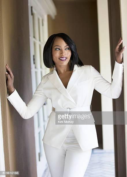 Actress Angela Bassett is photographed for Los Angeles Times on February 18 2016 in Los Angeles California PUBLISHED IMAGE CREDIT MUST READ Kirk...