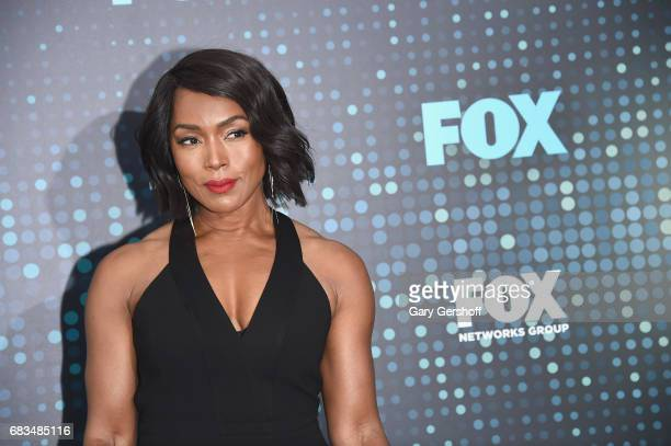 Actress Angela Bassett of the show '911' attends the FOX Upfront on May 15 2017 in New York City
