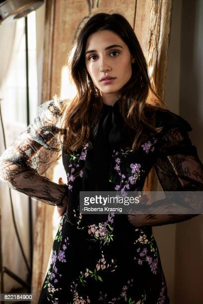 Actress Angela Fontana is photographed for Self Assignment on July 5 2017 in Rome Italy