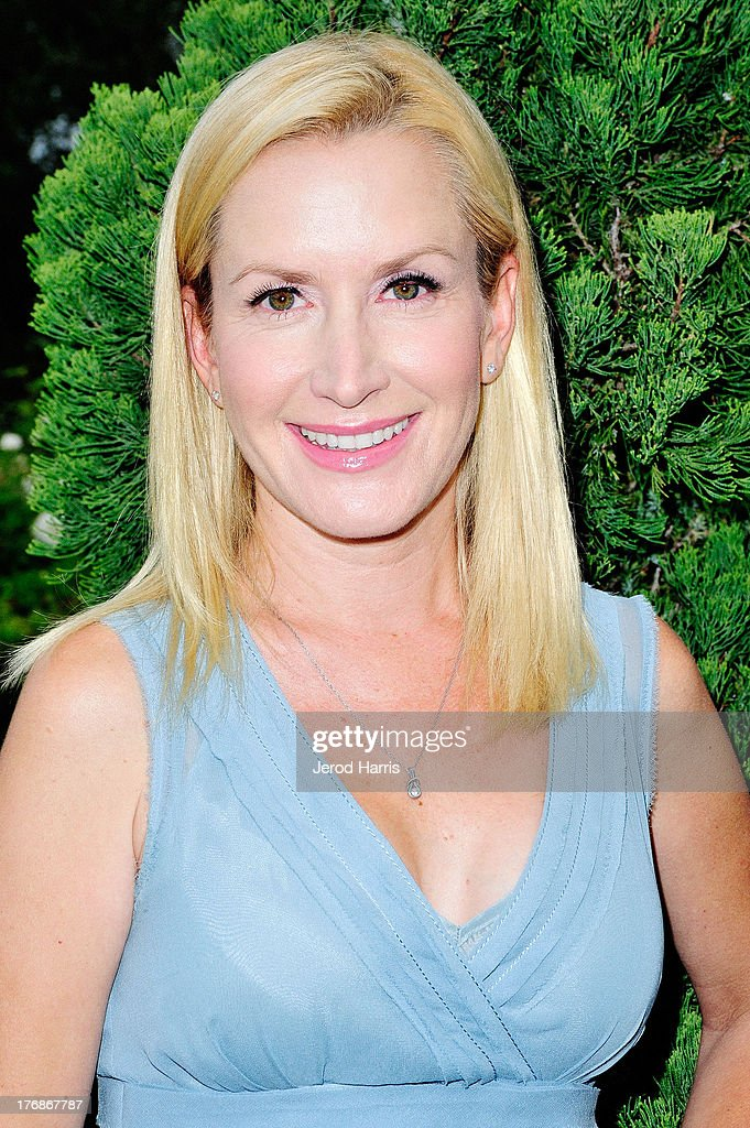 Actress <a gi-track='captionPersonalityLinkClicked' href=/galleries/search?phrase=Angela+Kinsey&family=editorial&specificpeople=743914 ng-click='$event.stopPropagation()'>Angela Kinsey</a> attends the 6th annual Oceana's SeaChange summer party on August 18, 2013 in Laguna Beach, California.