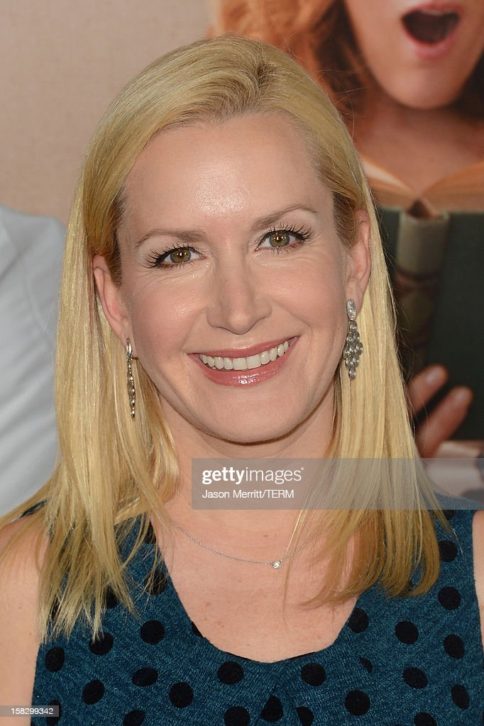 Actress Angela Kinsey attends the Premiere Of Universal Pictures' 'This Is 40' at Grauman's Chinese Theatre on December 12, 2012 in Hollywood, California.
