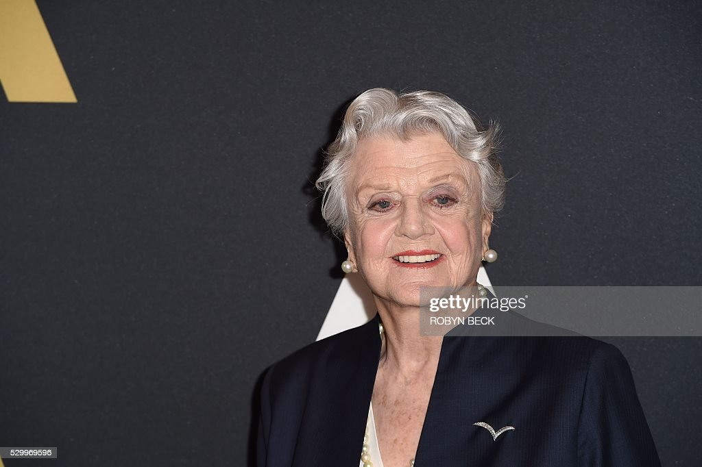 Actress Angela Lansbury attends a special screening and panel discussion of 'Beauty and the Beast' to celebrate the animated film's 25th anniversary...