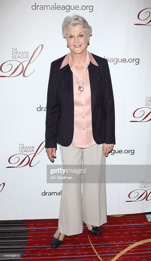 Actress Angela Lansbury attends the 78th annual Drama League Awards at the Marriott Marquis Times Square on May 18 2012 in New York City