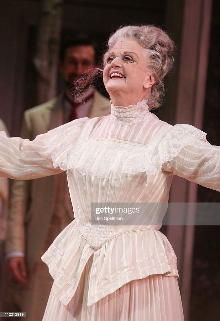 Actress Angela Lansbury attends the 'A Little Night Music' Broadway opening night at the Walter Kerr Theatre on December 13, 2009 in New York City.