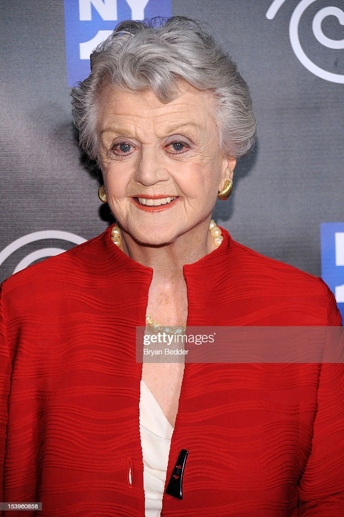 Actress Angela Lansbury attends the NY1 20th Anniversary party, in celebration of two decades of the New York City news channel at New York Public Library on October 11, 2012 in New York City.