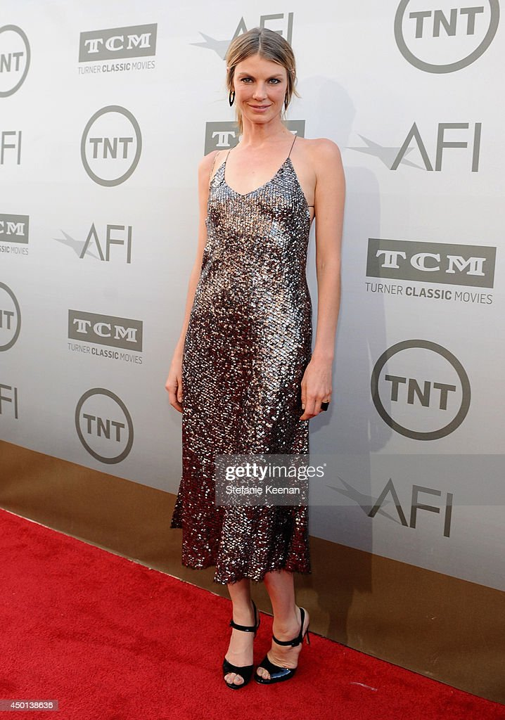 Actress <a gi-track='captionPersonalityLinkClicked' href=/galleries/search?phrase=Angela+Lindvall&family=editorial&specificpeople=206644 ng-click='$event.stopPropagation()'>Angela Lindvall</a> attends the 2014 AFI Life Achievement Award: A Tribute to Jane Fonda at the Dolby Theatre on June 5, 2014 in Hollywood, California. Tribute show airing Saturday, June 14, 2014 at 9pm ET/PT on TNT.