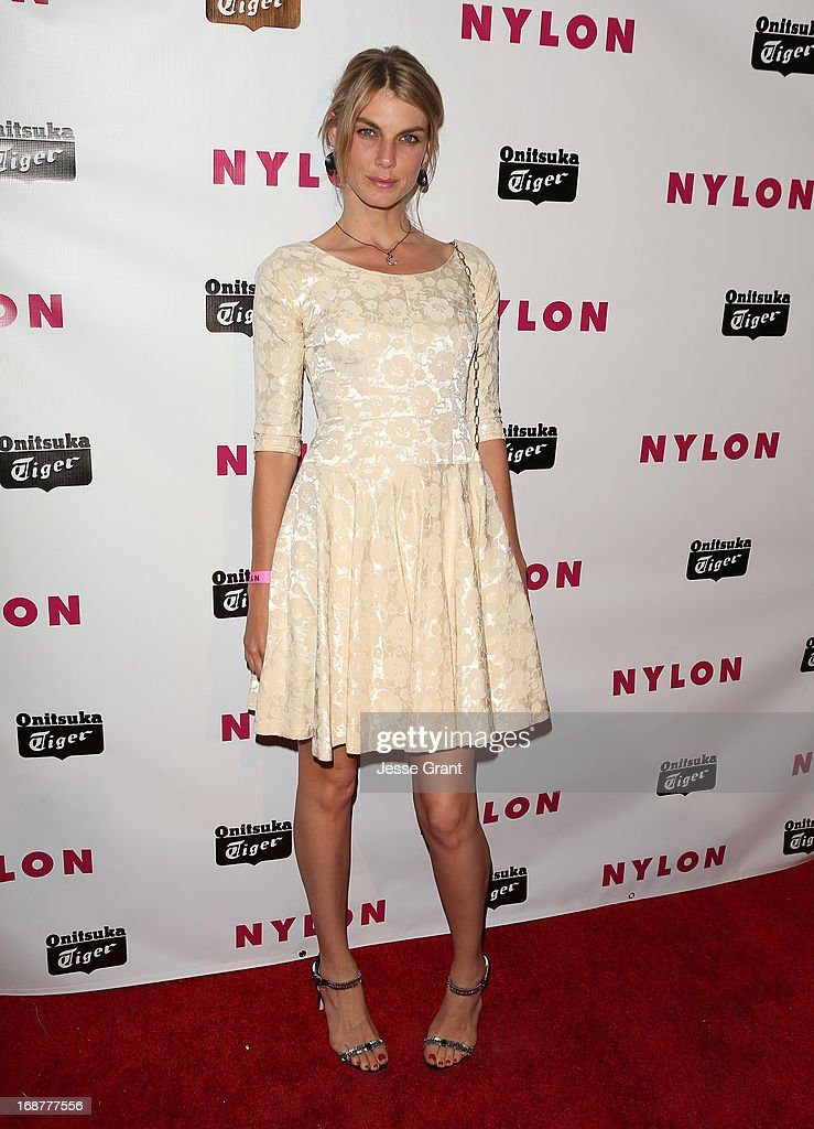 Actress Angela Lindvall attends the NYLON Magazine Annual May Young Hollywood Issue Party at The Roosevelt Hotel on May 14, 2013 in Hollywood, California.
