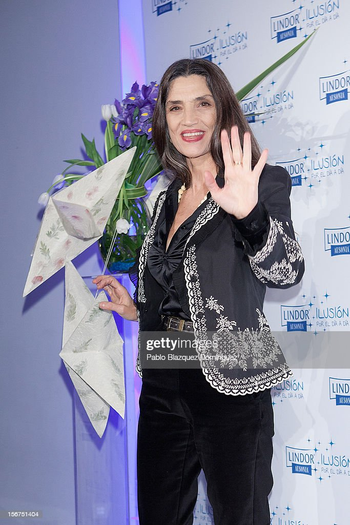 Actress Angela Molina presents 'Ilusion Por el Dia a Dia' Campaign at Espacio CoolRoom on November 20, 2012 in Madrid, Spain.