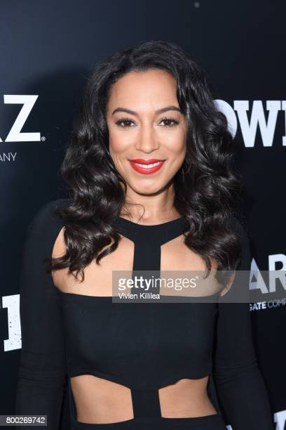 Actress Angela Rye attends STARZ 'Power' Season 4 LA Screening And Party at The London West Hollywood on June 23 2017 in West Hollywood California