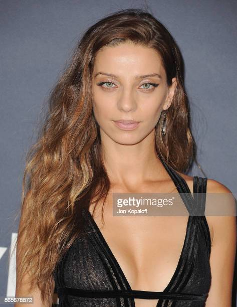 Actress Angela Sarafyan arrives at the 3rd Annual InStyle Awards at The Getty Center on October 23 2017 in Los Angeles California