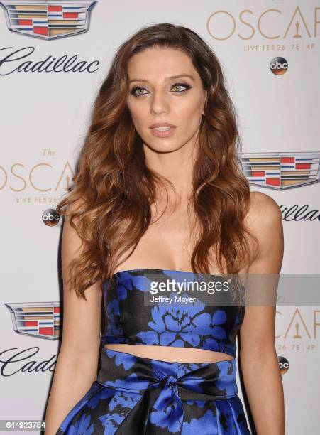 Actress Angela Sarafyan attends Cadillac's 89th annual Academy Awards celebration at Chateau Marmont on February 23 2017 in Los Angeles California