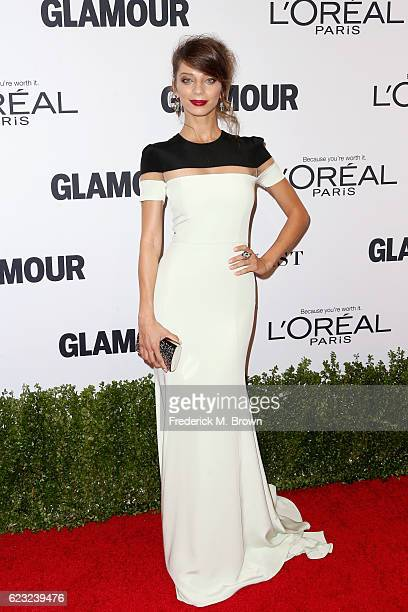 Actress Angela Sarafyan attends Glamour Women Of The Year 2016 at NeueHouse Hollywood on November 14 2016 in Los Angeles California