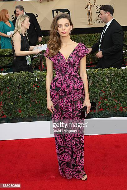 Actress Angela Sarafyan attends the 23rd Annual Screen Actors Guild Awards at The Shrine Expo Hall on January 29 2017 in Los Angeles California