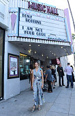 Actress Angela Sarafyan attends the celebration of the release of Joe Berlinger / Tony Robbins documentary 'I Am Not Your Guru' now available on...