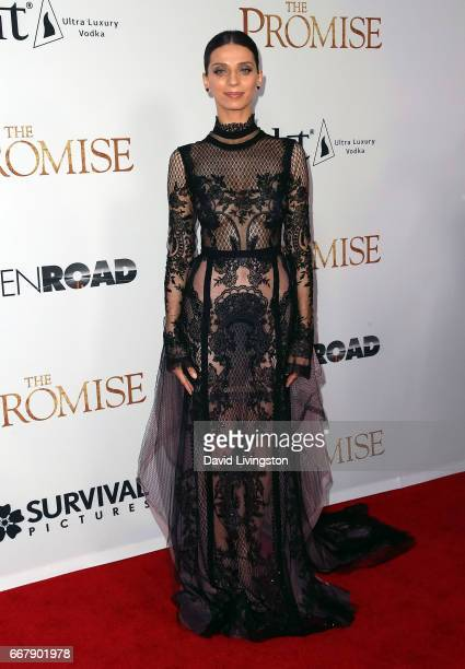 Actress Angela Sarafyan attends the premiere of Open Road Films' 'The Promise' at TCL Chinese Theatre on April 12 2017 in Hollywood California