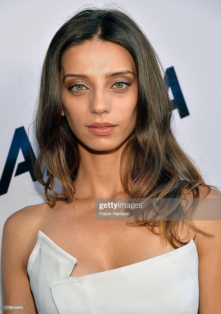 Actress Angela Sarafyan attends the premiere of Relativity Media's 'Paranoia' at DGA Theater on August 8, 2013 in Los Angeles, California.