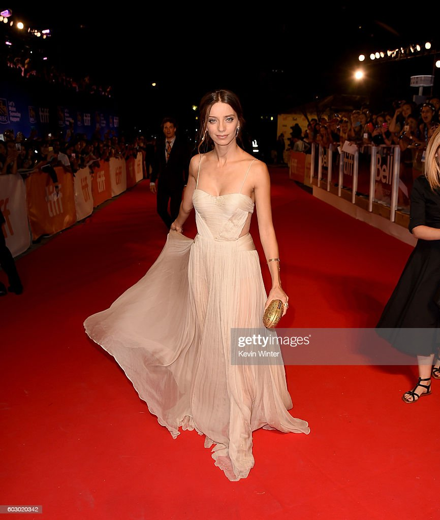 Actress Angela Sarafyan attends the 'The Promise' premiere during the 2016 Toronto International Film Festival at Roy Thomson Hall on September 11, 2016 in Toronto, Canada.